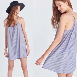 BDG✨NWT✨Charlotte Striped Racerback Dress *Flawed